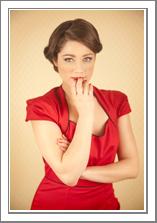 Merry vestido rojo